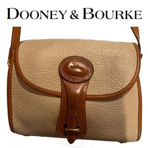 DOONEY & BOURKE pebbled leather crossbody